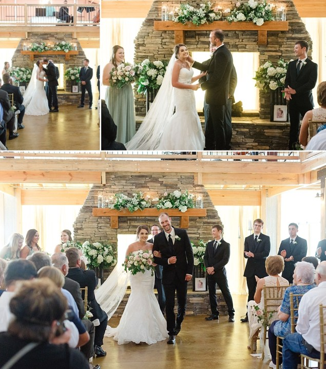 Jaycie and CJ's Wedding at The Barn at Pine Mountain in Quitman Arkansas || by Erika Dotson Photography_0040
