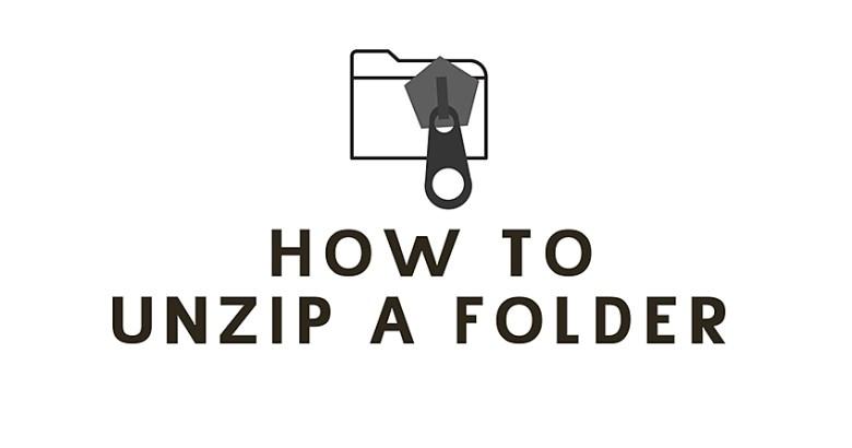 Unzipping a file tutorial