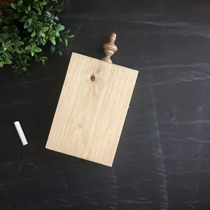5 x 7 Unfinished Wood Block