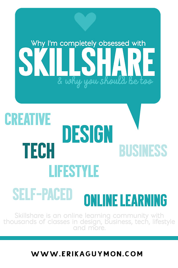 My obsession with Skillshare