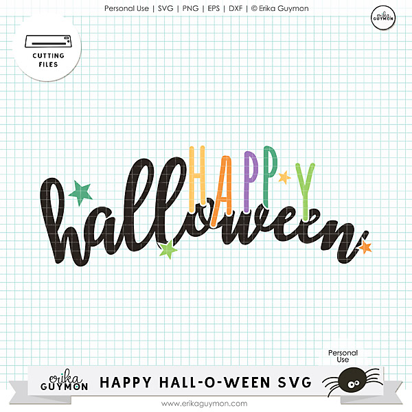 Free SVG Cut File | Halloween | Personal Use By: Erika Guymon