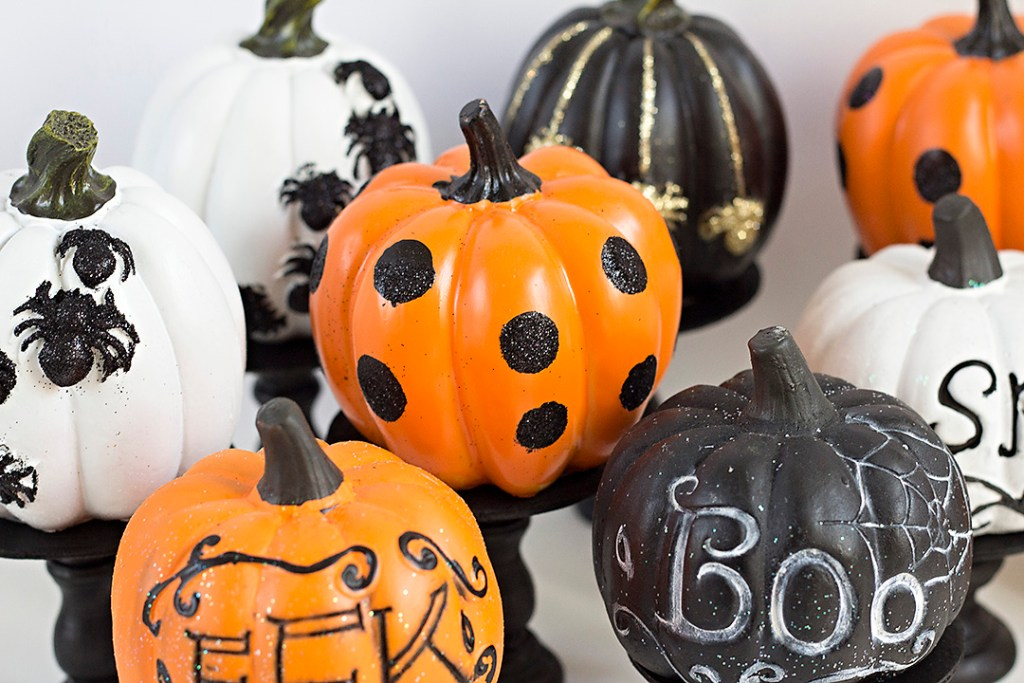 The fastest, easiest, & cheapest pumpkin decor you'll ever find. Dollar store...here we come! Erika Guymon will give you the resources to make your own!