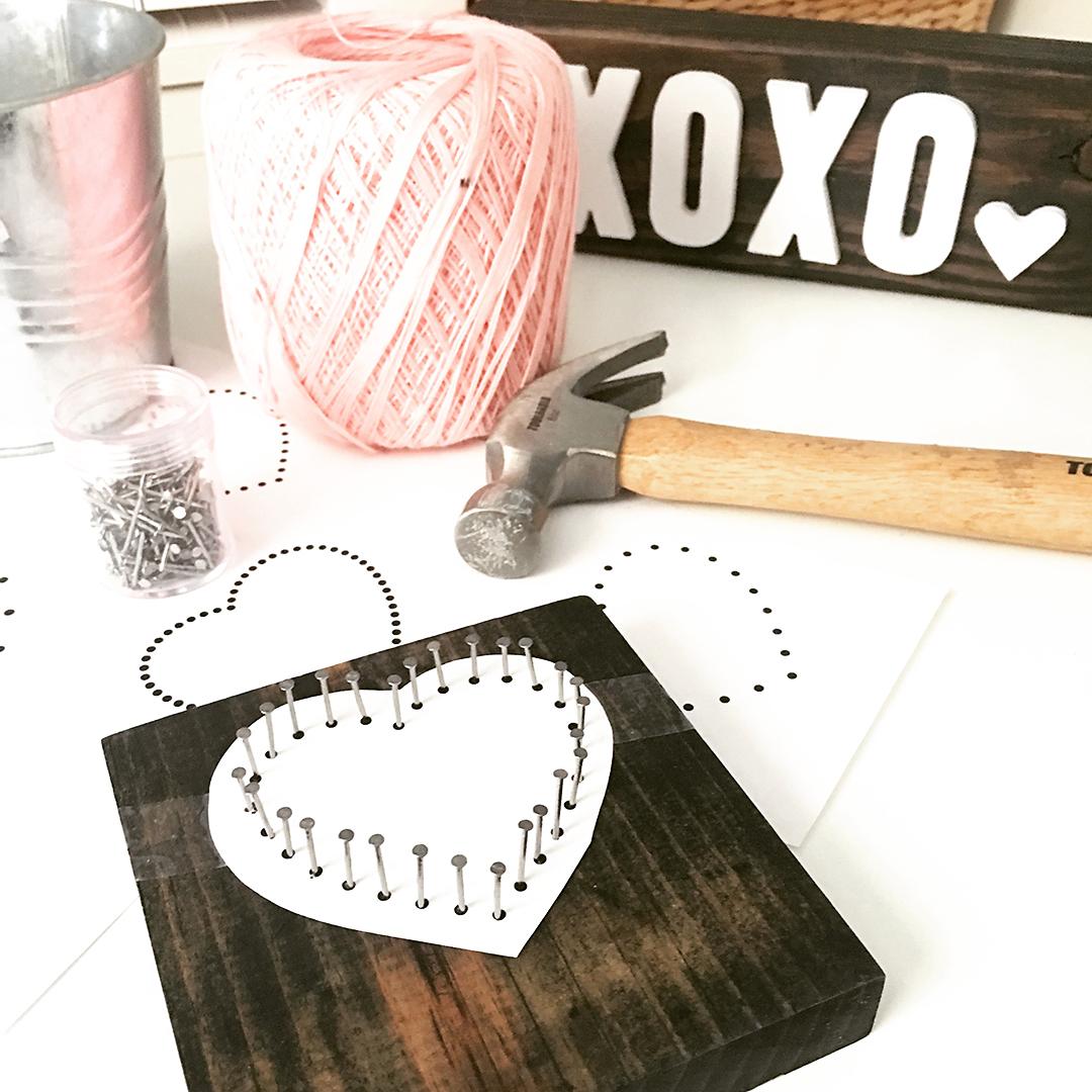 Heart String Art Pattern Erika Guymon