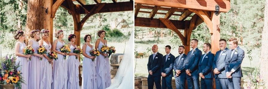 bridesmaids and groomsmen photos