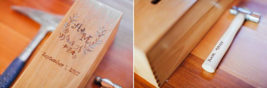 anniversary wine box