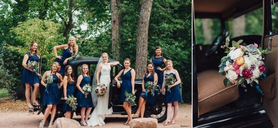 ford model a wedding