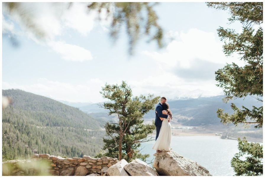 Elopement at Sapphire Point in October