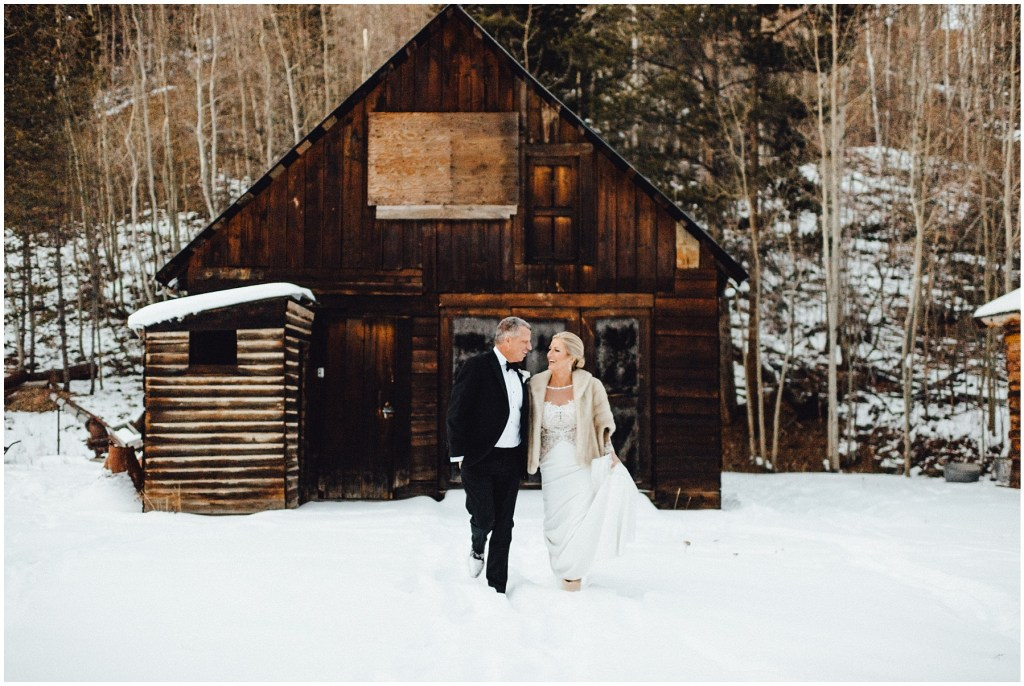 What a magnificent setting for this Breckenridge winter wedding.