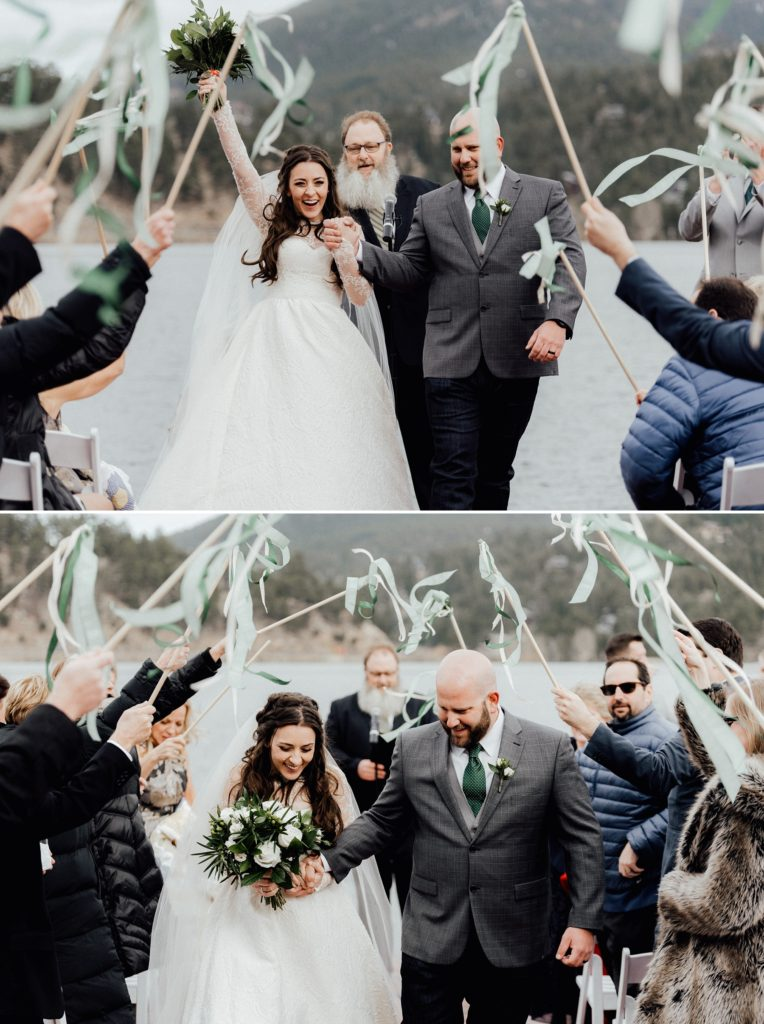 streamers for wedding recessional
