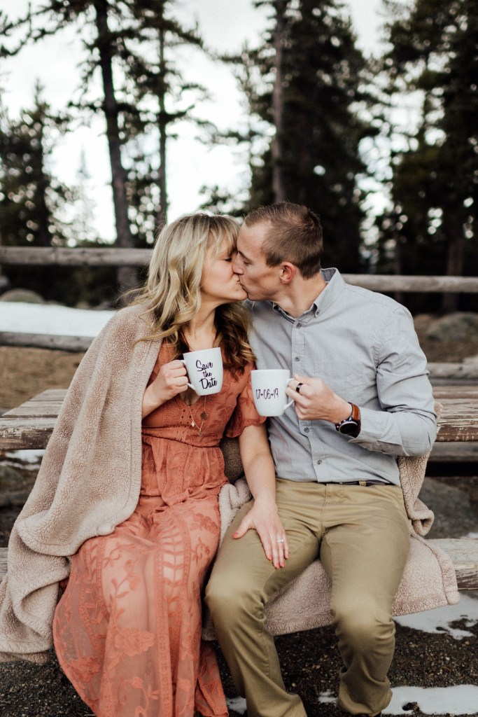 engagement photo save the date ideas