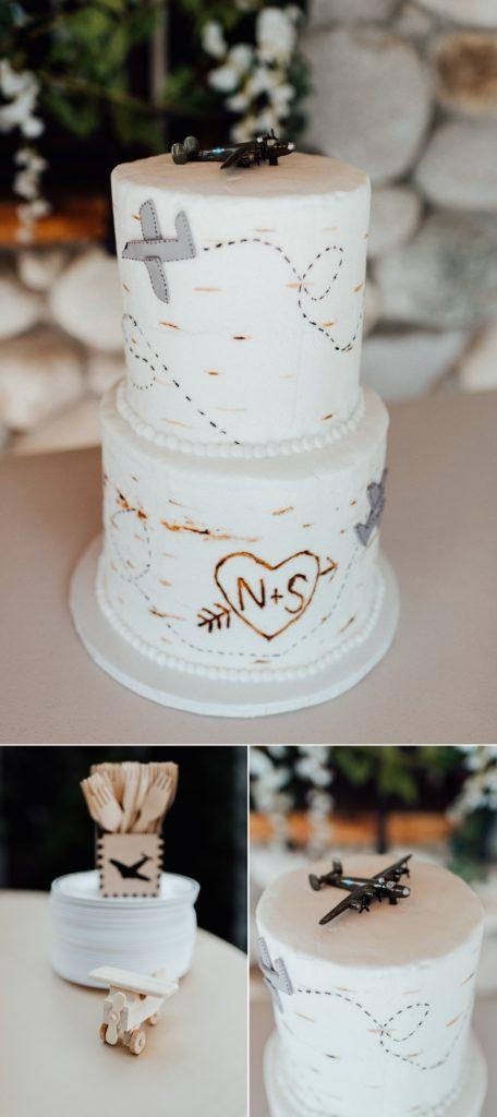 Airplane wedding cake, wedding cake ideas