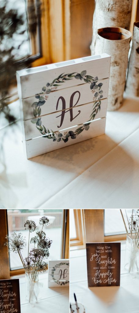 Guest table ideas