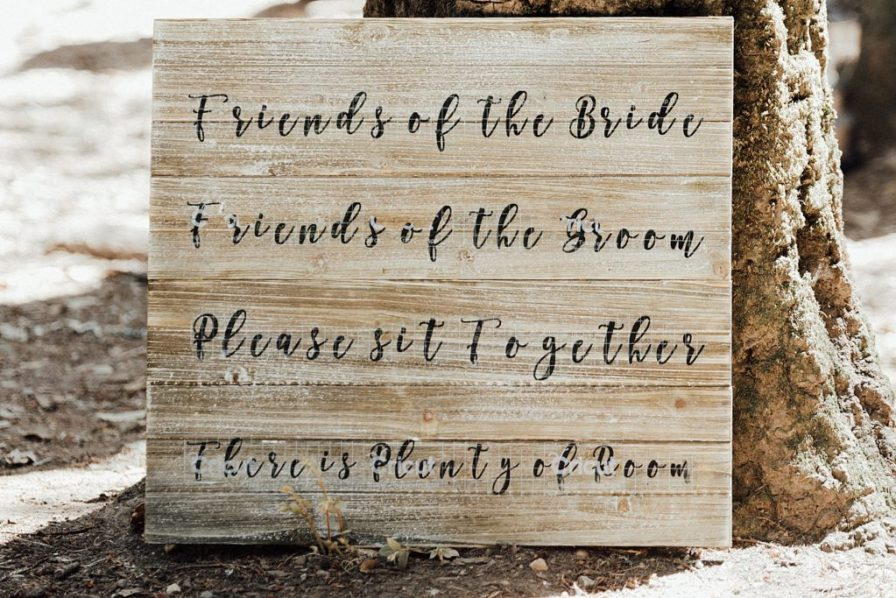 Rustic wedding signs, rustic theme