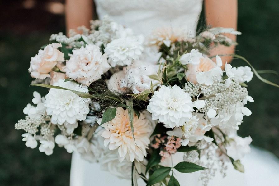 Flowers by Emma Lea Floral, wedding bouquet ideas, summer wedding bouquet