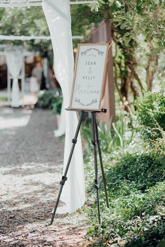 Wedding welcome signs, boho wedding signs, backyard wedding