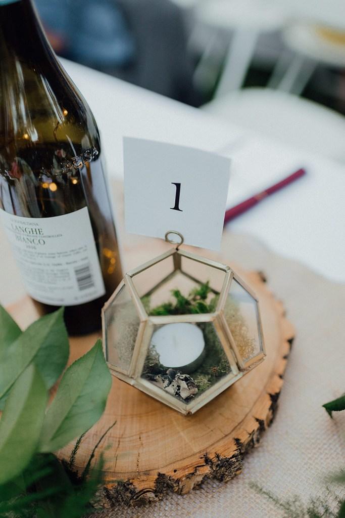 Wedding menu ideas, wedding centerpieces, centerpiece ideas, boho centerpieces, succulent centerpieces, wine bottle wedding decorations, geometric centerpieces