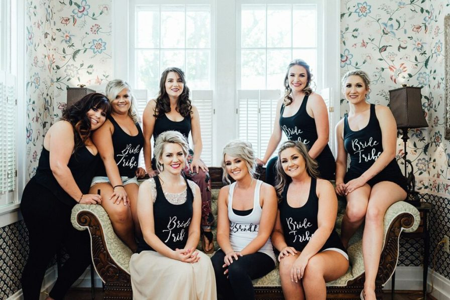 Bride and bridesmaid shirts, bridesmaid shirts, bride tribe shirts