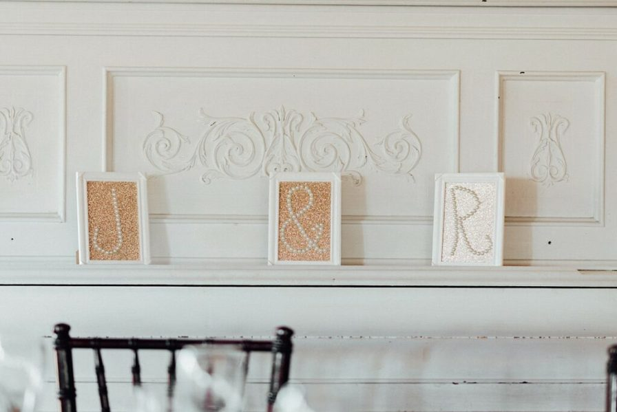 Gold wedding decor, chic wedding decor, gold table numbers, gold table cloths, gold and champagne wedding decorations