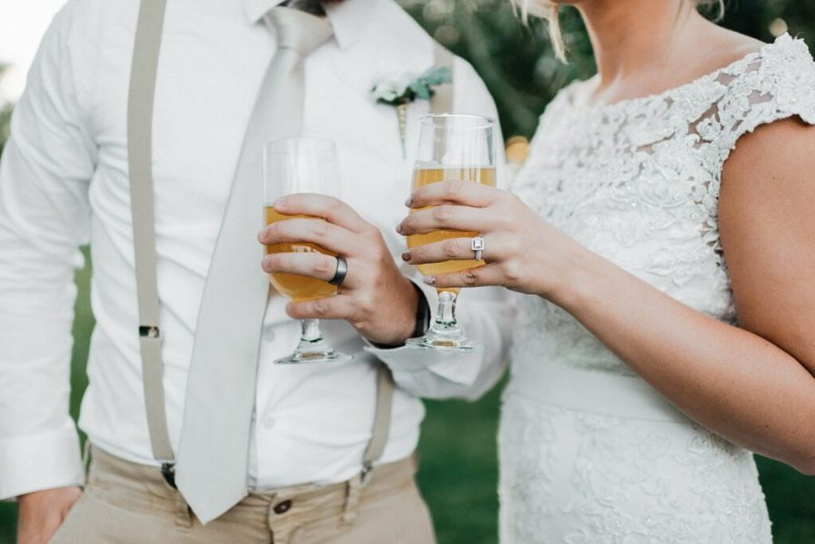 Bride and groom portraits, ring photos, unique ring photos