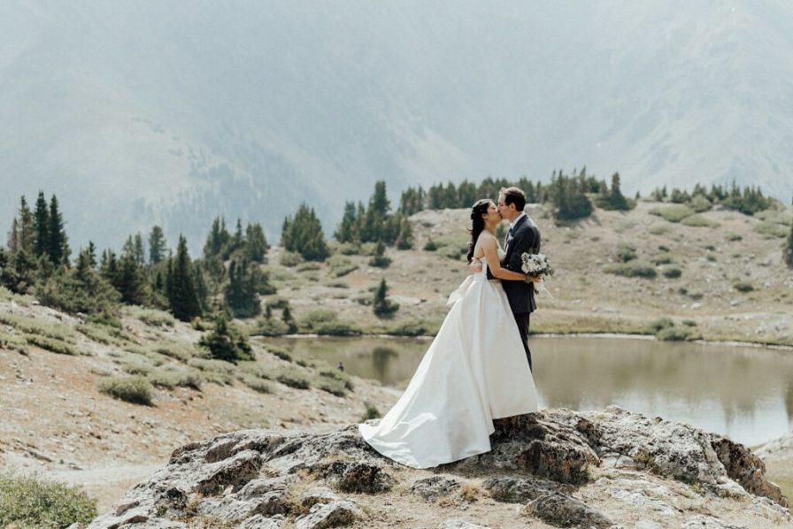 Pass Lake elopement photos