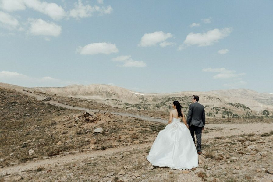 Elopement locations in Colorado mountains