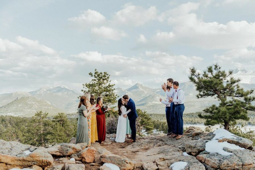 Rocky mountain national park elopement locations
