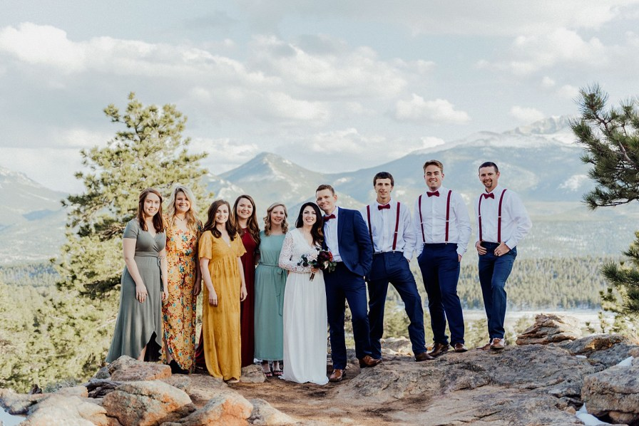 small elopement in rocky mountain national park