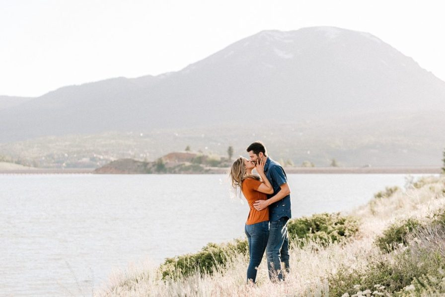 Lake Dillon engagement photos