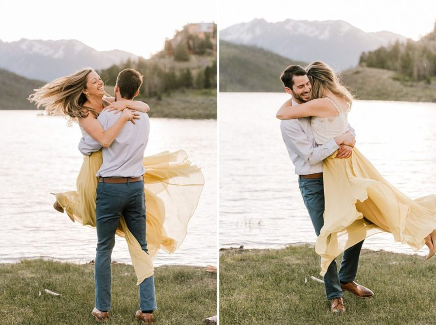 Fun inspiration for engagement photos