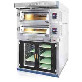 Electric Deck Oven with Proofing Cabinet