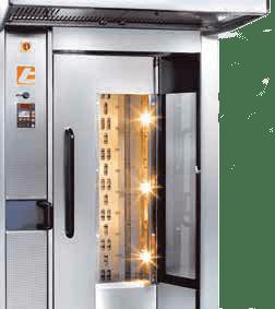 Tagliavini Rotor | Heavy Duty Rack Oven | Bakery Equipment