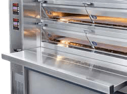 Industrial Electric Deck Oven with Workbench