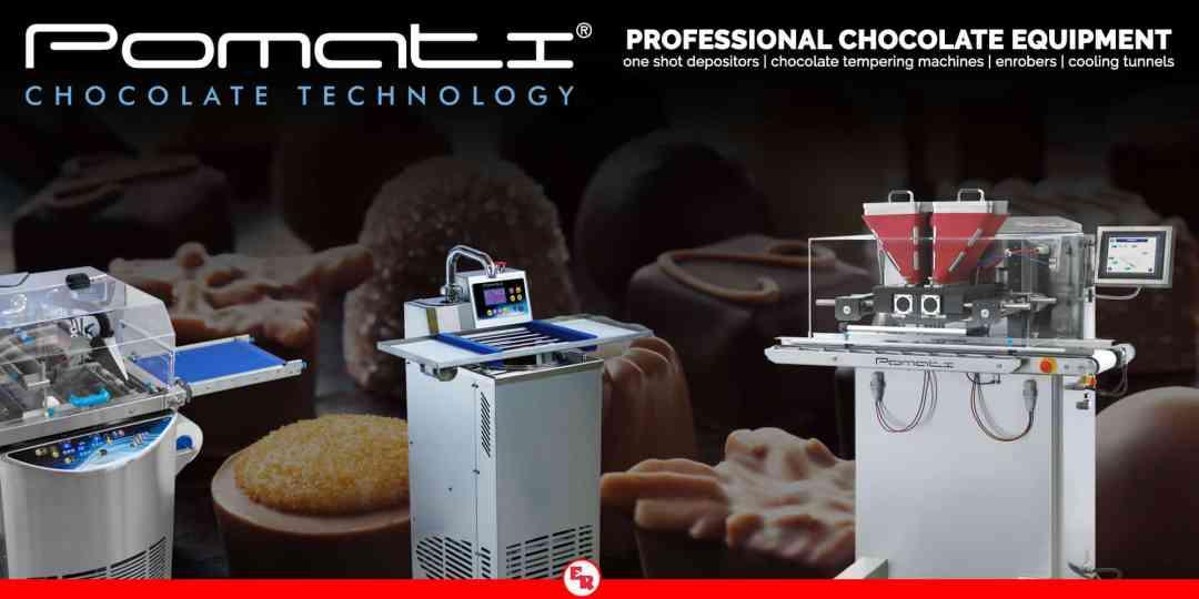 Pomati | Professional Chocolate Equipment