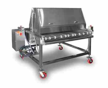 Stainless Steel | Egg Washer & Pan Greaser
