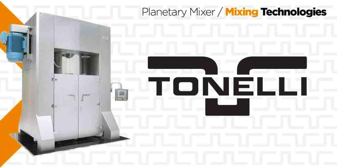Tonelli | Vertical Planetary Mixers
