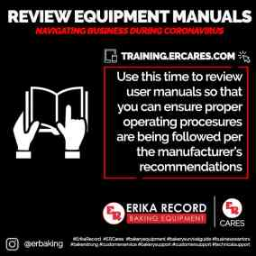 Review Equipment Manuals