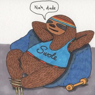Inktober 09: Sloth (Seven Deadly Sins)