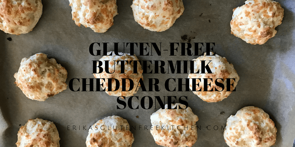 Gluten-free Buttermilk Cheddar Cheese Scones