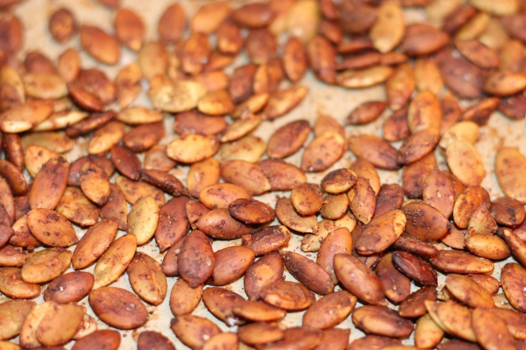 spicy pumpkin seeds