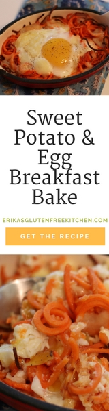Sweet Potato and Egg Breakfast Bake
