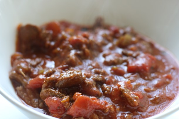 Low FODMAP Chili | erikasglutenfreekitchen.com