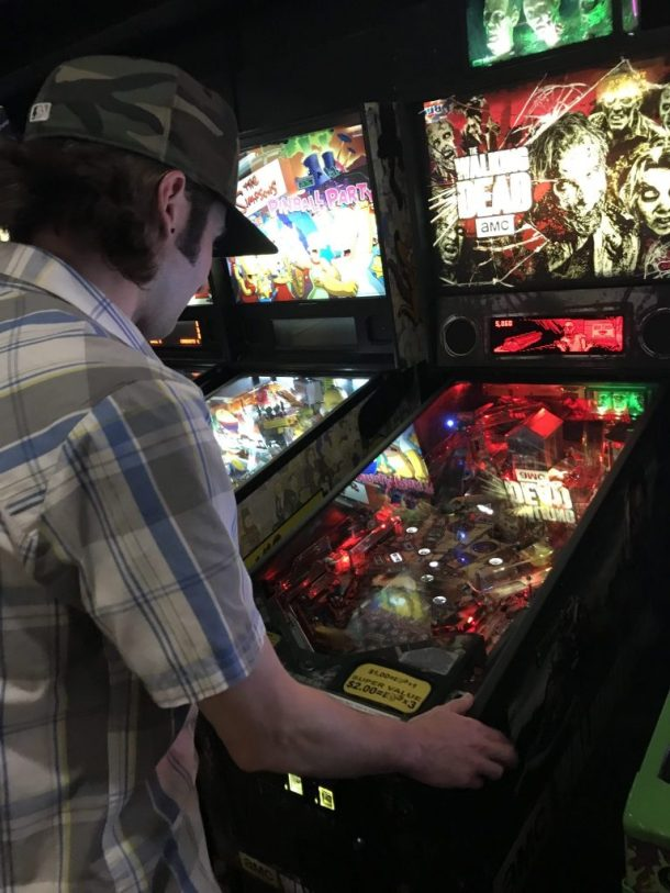 Walking Dead Pinball Machine at Coin Op Sacramento