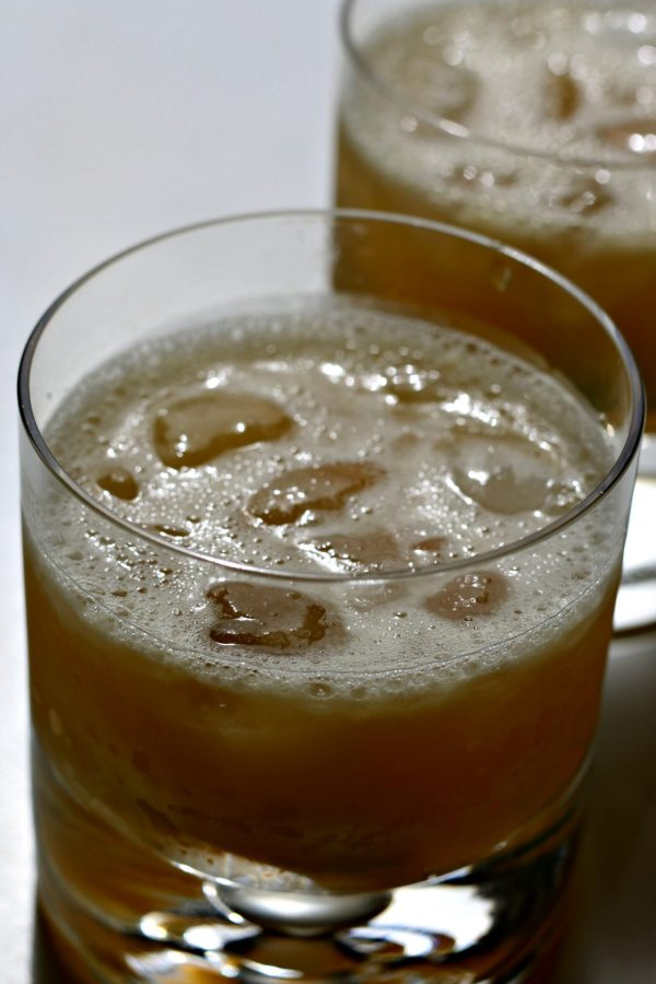 Two bourbon margaritas