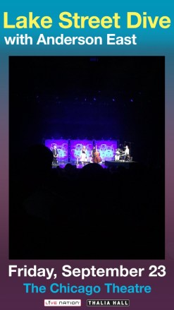 Lake Street Dive @ the Chicago Theater