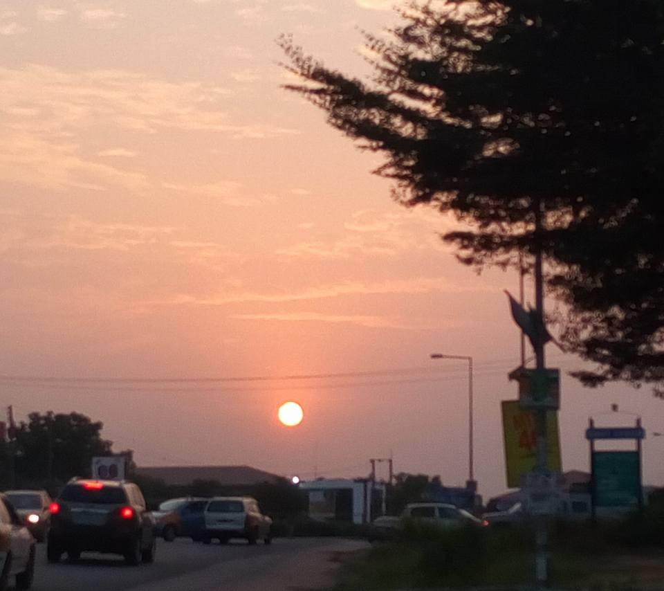 Accra - East Legon at Sunset PIC: MK