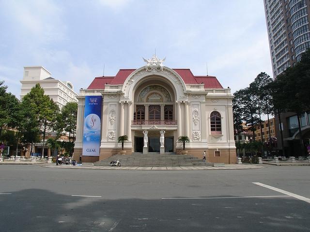 Ho Chi Minh City - Saigon Opera House PIC: SB