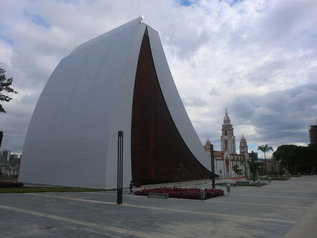 Caracas - Mausoleum of Simon Bolivar PIC: KH