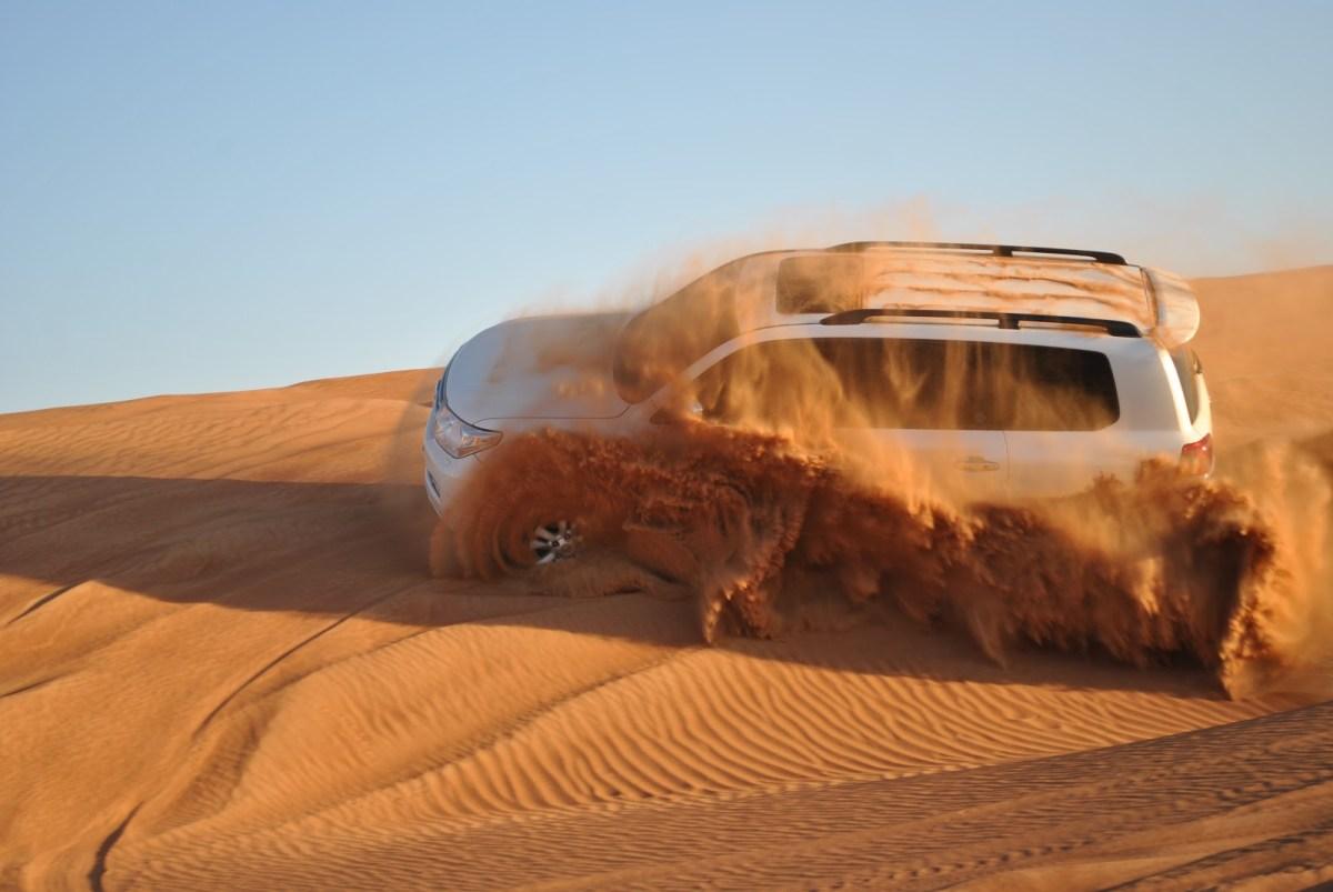 Dubai Dune Bashing