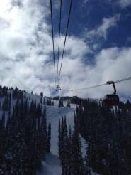 Peak 2 Peak gondola, which is still impressive after many rides