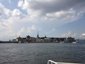 Gamla Stan from the ferry